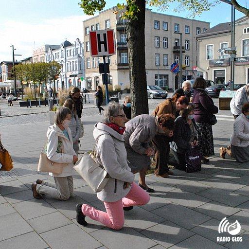 Koronka na ulicach miast świata 2020 - Kartuzy