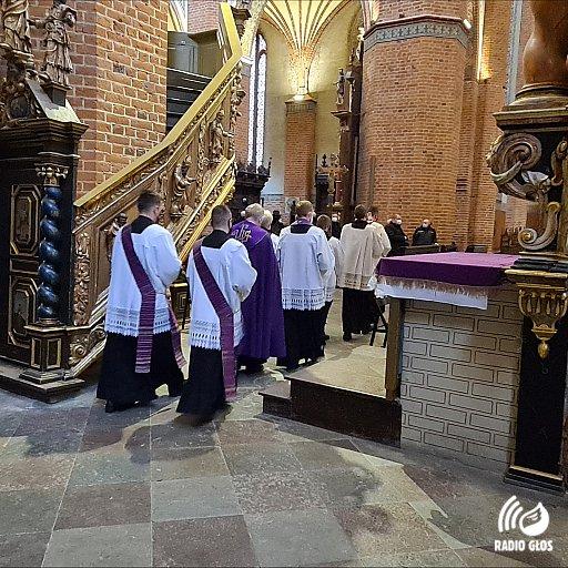 Nabożeństwo pokutne kapłanów w Pelplinie 20.02.2021