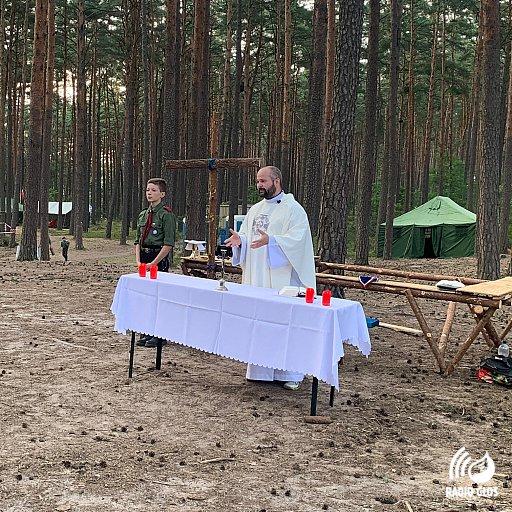 Harcerska akcja letnia hufca ZHP Starogard Gd.